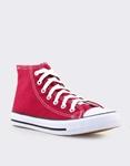 Εικόνα από Γυναικεία sneakers μποτάκια Μπορντώ
