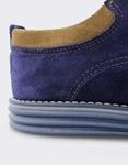 Εικόνα από Ανδρικά loafers καστόρινα με διχρωμία Μπλε