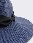 Εικόνα από Γυναικεία καπέλα ψάθινα Μπλε