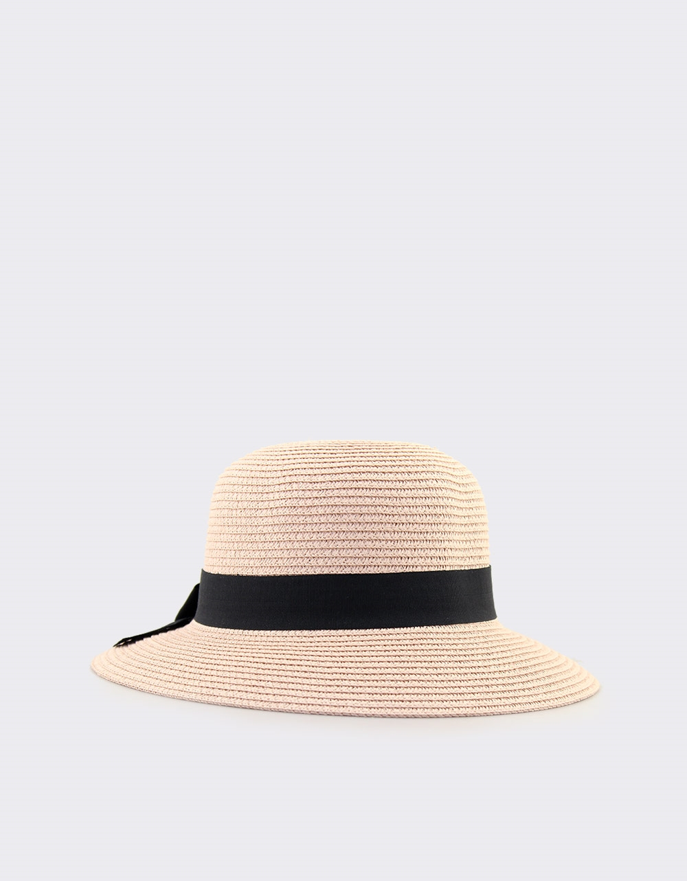 5737fc3b5e Εικόνα από Γυναικεία καπέλα ψάθινα με κορδέλα Ροζ