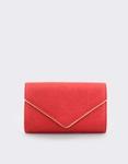 Εικόνα από Γυναικείοι φάκελοι με ανάγλυφο μοτίβο Κόκκινο