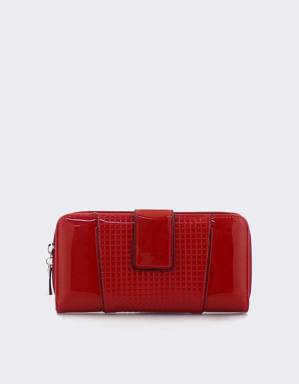 1297ce768d Εικόνα από Γυναικεία πορτοφόλια λουστρίνι Κόκκινο