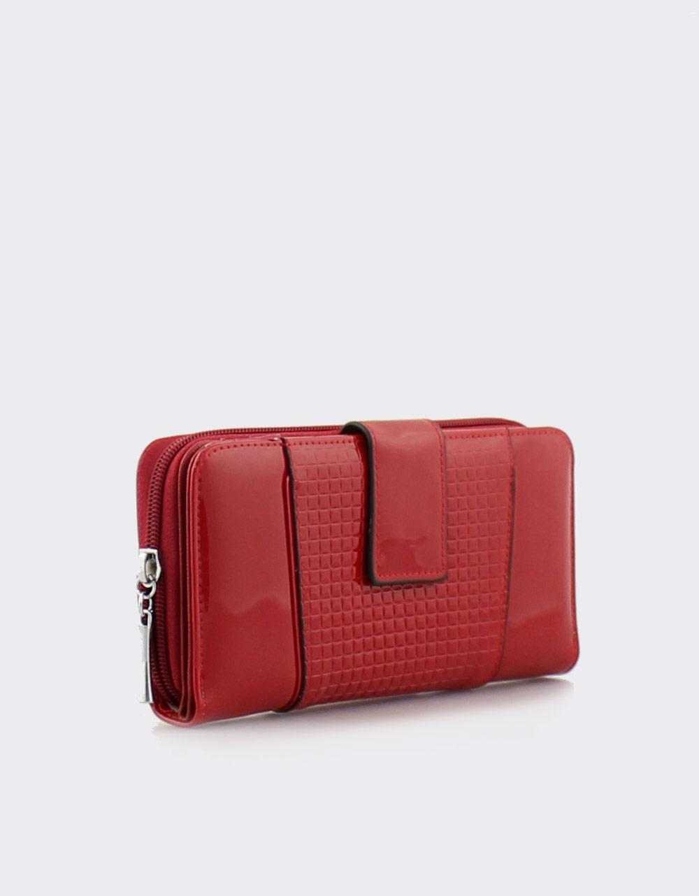 5359d1c9b1 Εικόνα από Γυναικεία πορτοφόλια λουστρίνι Κόκκινο