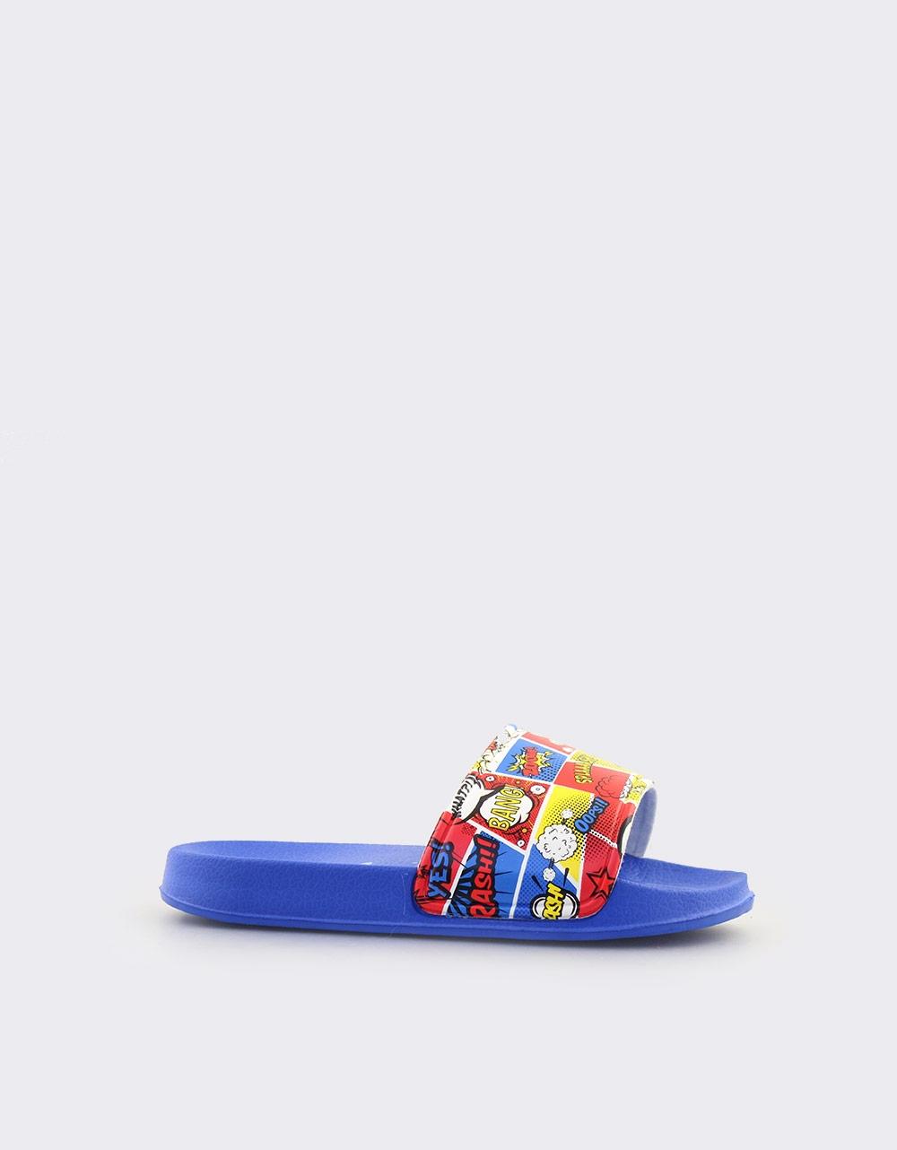 Εικόνα από Παιδικές σαγιονάρες με σχέδια Μπλε