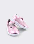 Εικόνα από Παιδικά sneakers μεταλλιζέ Ροζ