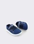 Εικόνα από Παιδικά sneakers μονόχρωμα με σχέδιο Navy