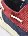 Εικόνα από Ανδρικά loafers δίχρωμα Μπλε/Μπορντώ