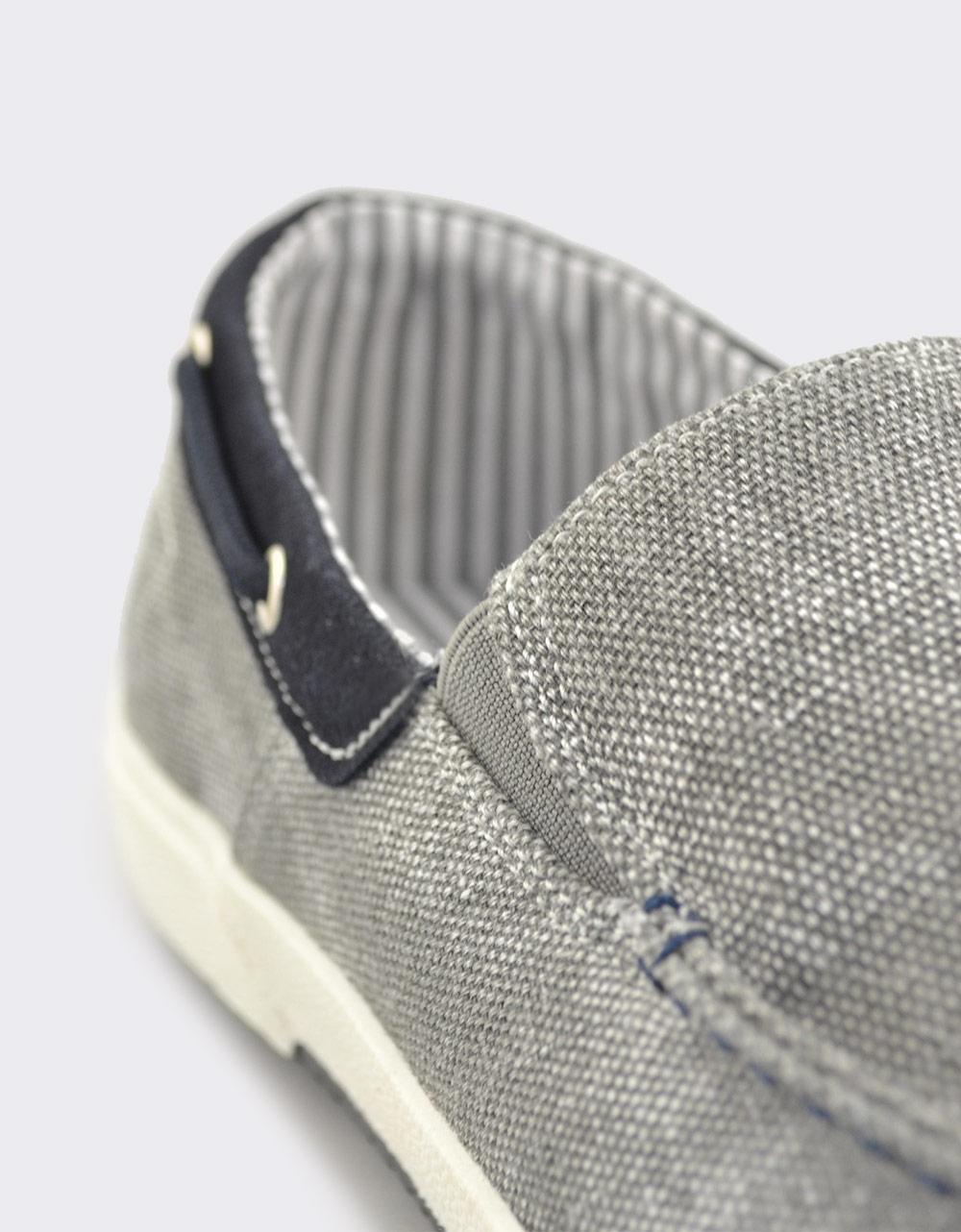 Εικόνα από Ανδρικά loafers υφασμάτινα Γκρι