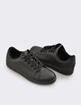 Εικόνα από Ανδρικά sneakers μονόχρωμα Μαύρο