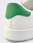Εικόνα από Ανδρικά sneakers μονόχρωμα Λευκό/Πράσινο