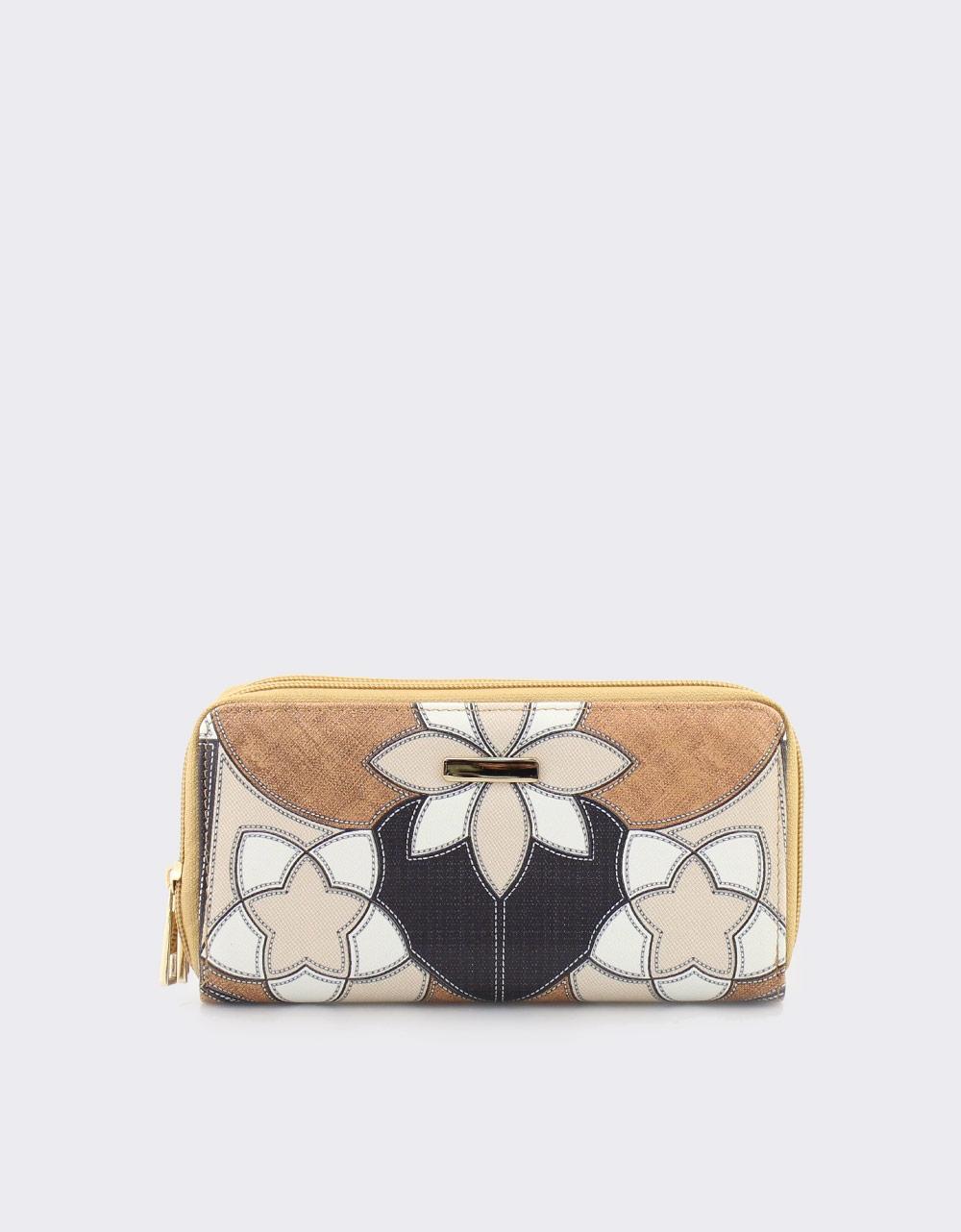 Εικόνα από Γυναικεία πορτοφόλια με σχέδια Κάμελ