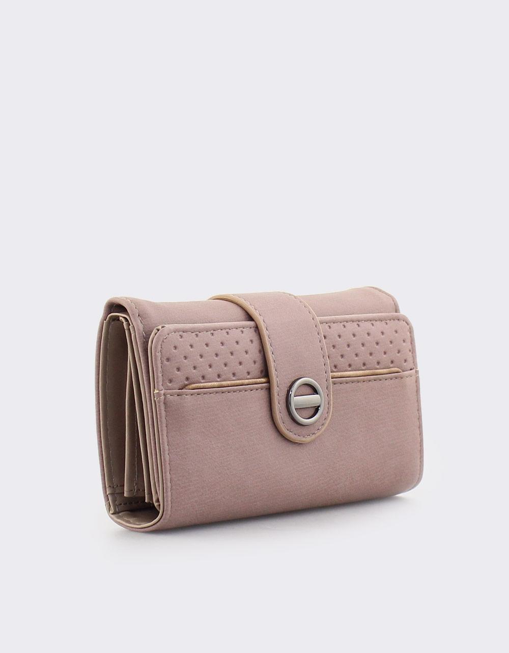 Εικόνα από Γυναικεία πορτοφόλια με κλείσιμο με λουράκι Πούρο