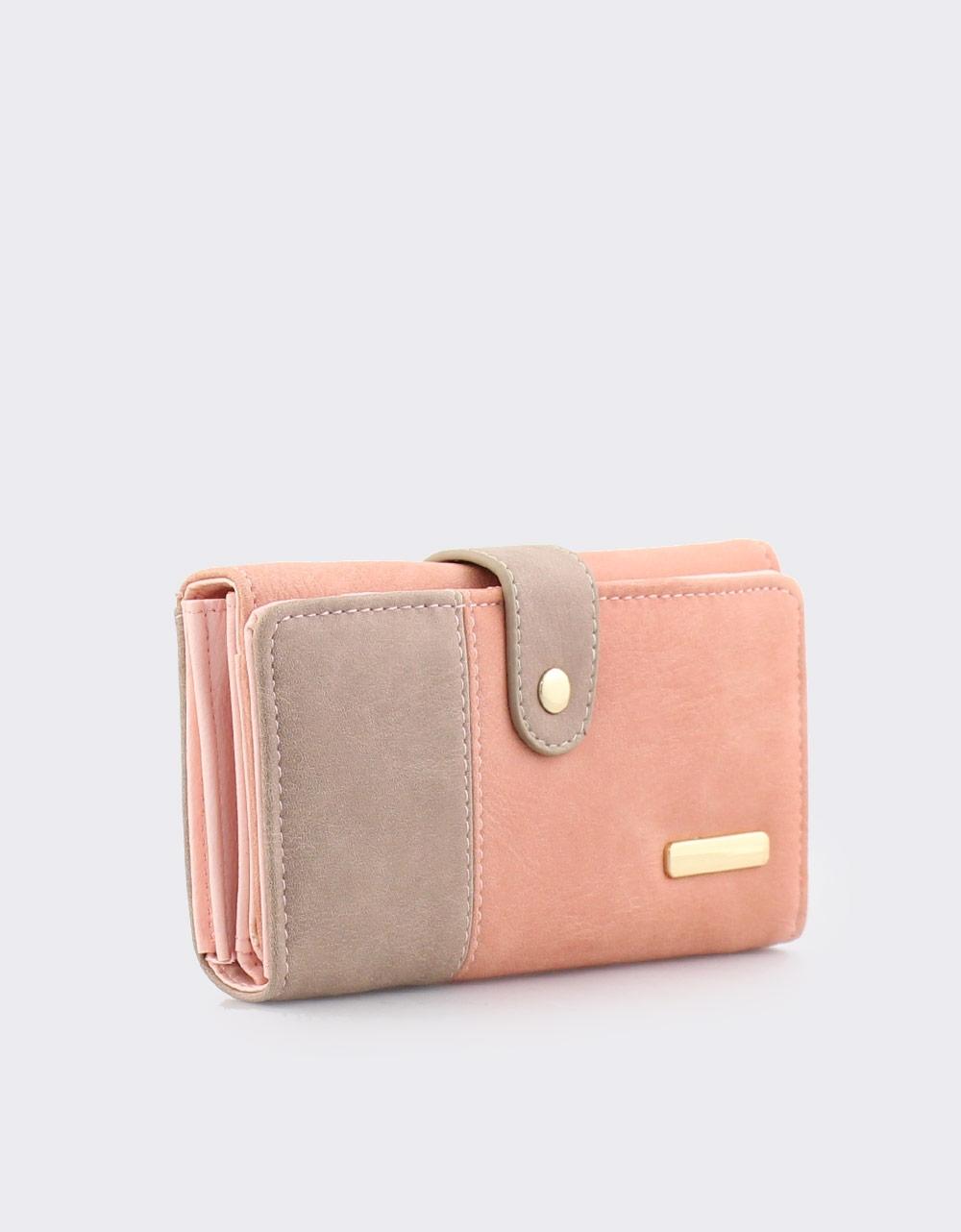 Εικόνα από Γυναικεία πορτοφόλια δίχρωμα Ροζ