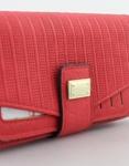 Εικόνα από Γυναικεία πορτοφόλια με ανάγλυφο μοτίβο Κόκκινο