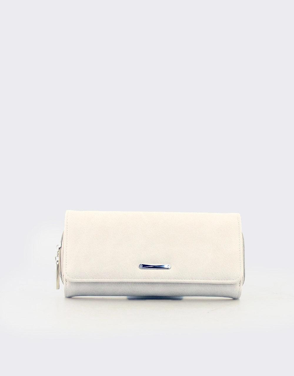 Εικόνα από Γυναικεία πορτοφόλια μονόχρωμα Πάγου