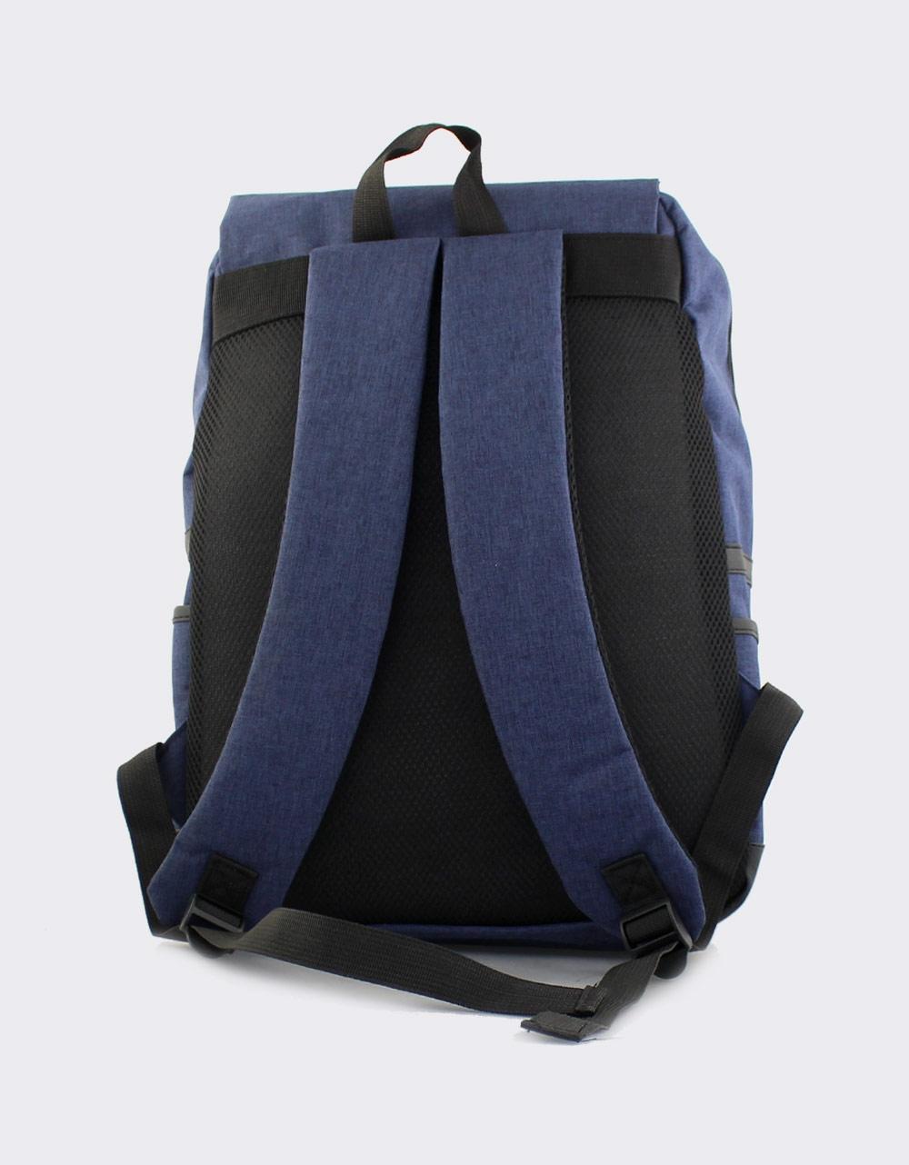 Εικόνα από Ανδρικά σακίδια πλάτης με διπλά λουράκια Μπλε