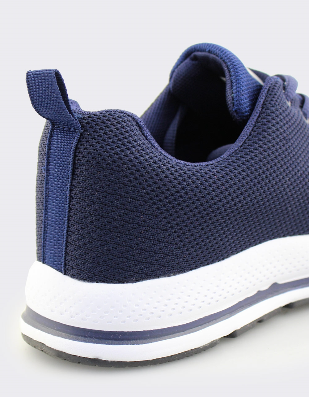 Εικόνα από Ανδρικά sneakers με λεπτομέρεια στη σόλα Μπλε/Λευκό