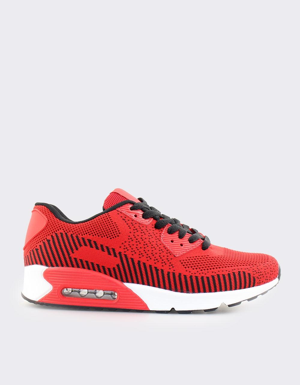 Εικόνα από Ανδρικά sneakers με αερόσολα Κόκκινο/Λευκό