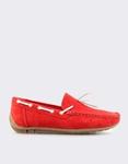 Εικόνα από Ανδρικά loafers μονόχρωμα Κόκκινο