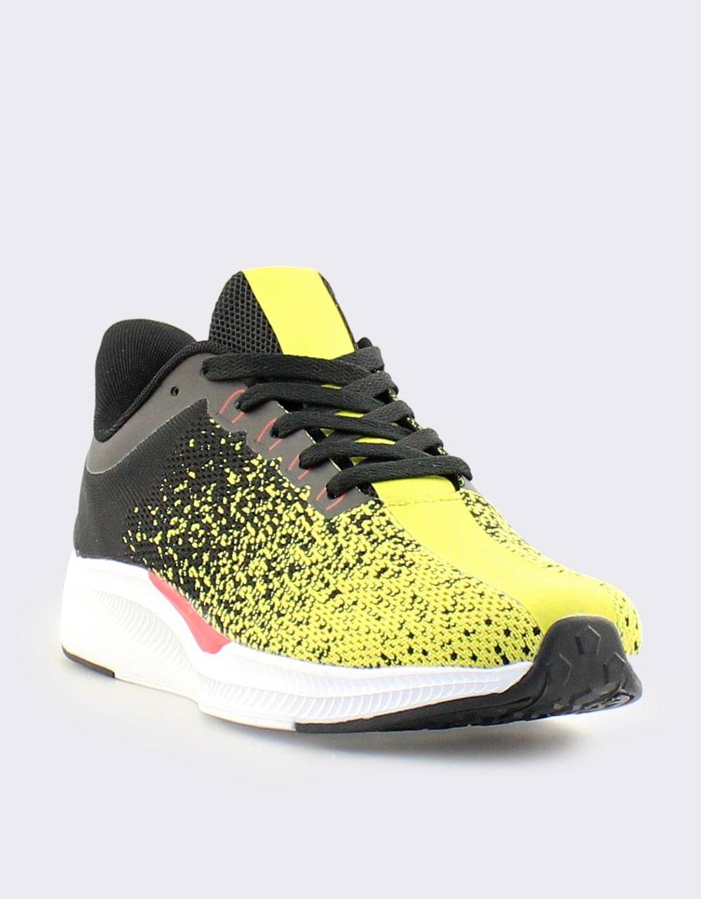 Εικόνα από Ανδρικά sneakers δίχρωμα Κίτρινο/Μαύρο