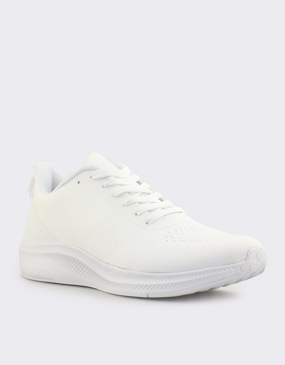 Εικόνα από Ανδρικά sneakers με λεπτομέρειες στη σόλα Λευκό