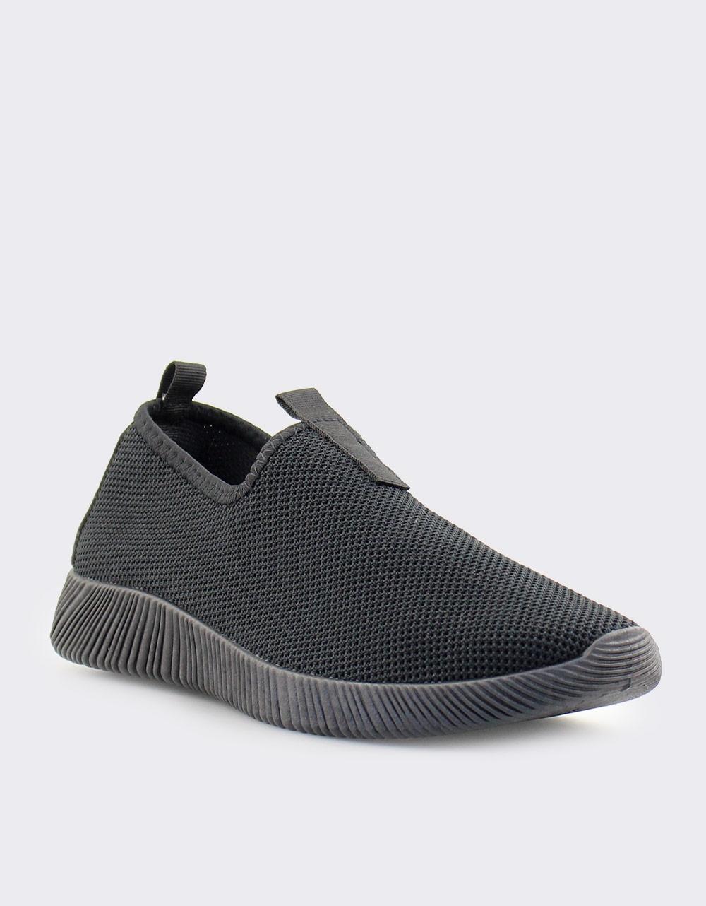 Εικόνα από Ανδρικά sneakers ελαστικά Μαύρο