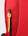 Εικόνα από Ανδρικά σακίδια πλάτης με δίχρωμες λεπτομέρειες Κόκκινο