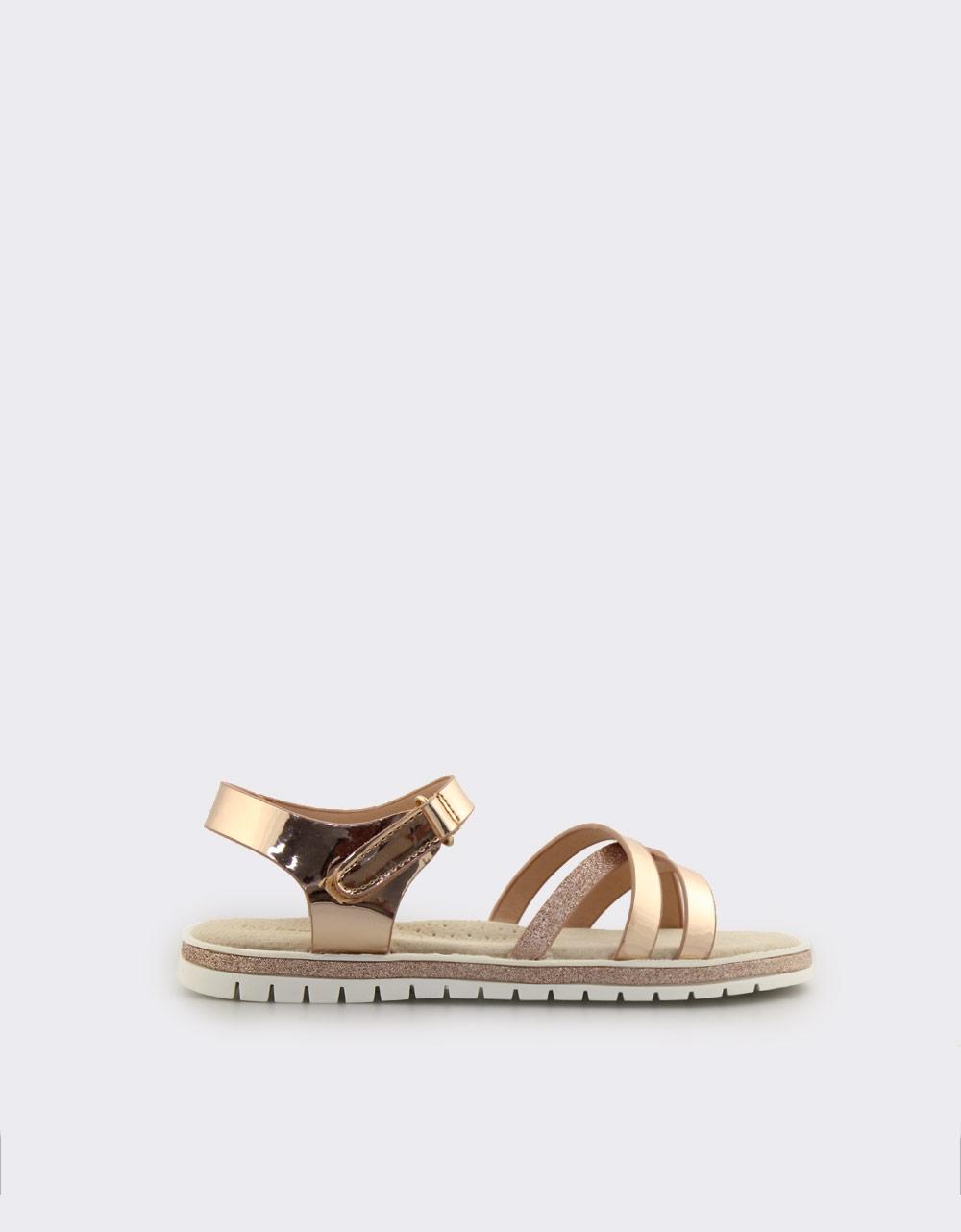 d17b59a8def Inshoes.gr. Παιδικά πέδιλα με glitter   InShoes.gr Χρυσό