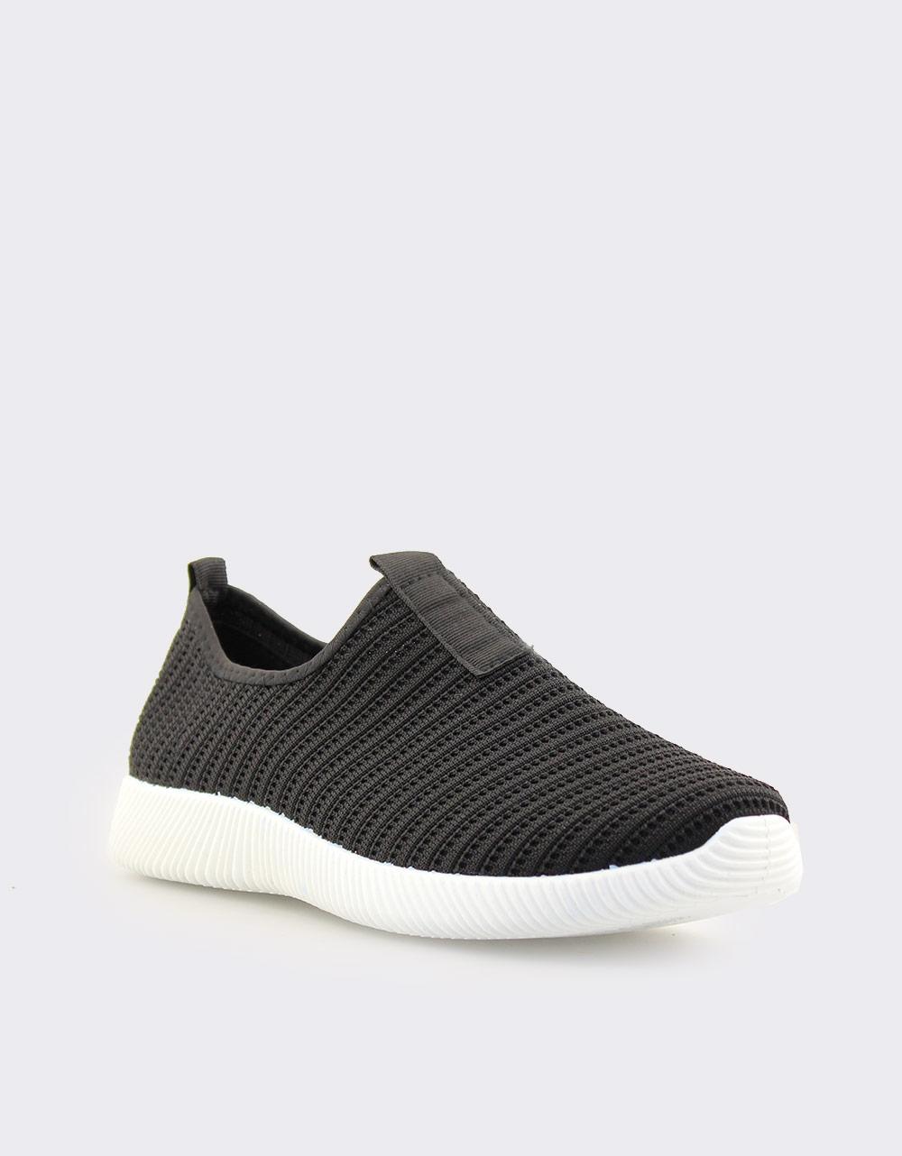 Εικόνα από Ανδρικά sneakers ελαστικά Μαύρο/Λευκό