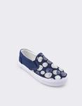 Εικόνα από Παιδικά sneakers με παγιέτες Μπλε