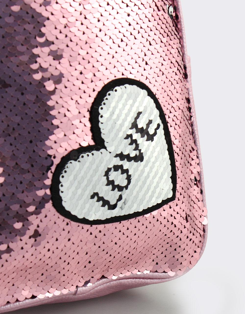 Εικόνα από Παιδικά σακίδια πλάτης με χρωματιστές πούλιες Λιλά