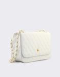 Εικόνα από Γυναικείες τσάντες ώμου καπιτονέ Λευκό