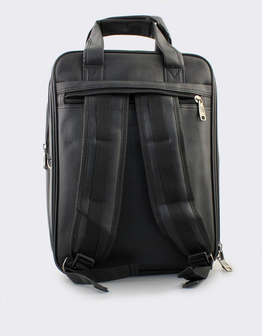 Εικόνα από Ανδρικές τσάντες επαγγελματικές με μεταλλικό διακοσμητικό Μαύρο