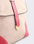 Εικόνα από Γυναικεία σακίδια πλάτης με κάθετο δέσιμο Ροζ