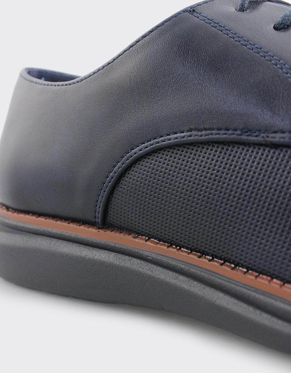 Εικόνα από Ανδρικά loafers με ανάγλυφο μοτίβο Μπλε