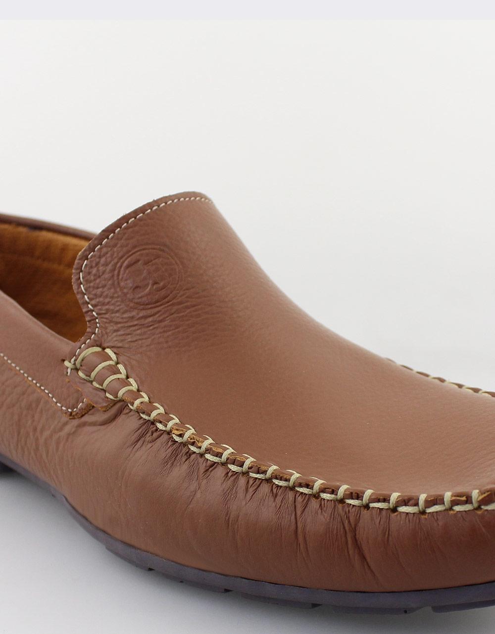 Εικόνα από Ανδρικά δερμάτινα loafers Ταμπά
