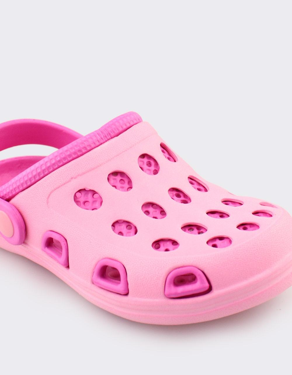 Εικόνα από Παιδικά σαμπό δίχρωμα με λουράκι Ροζ