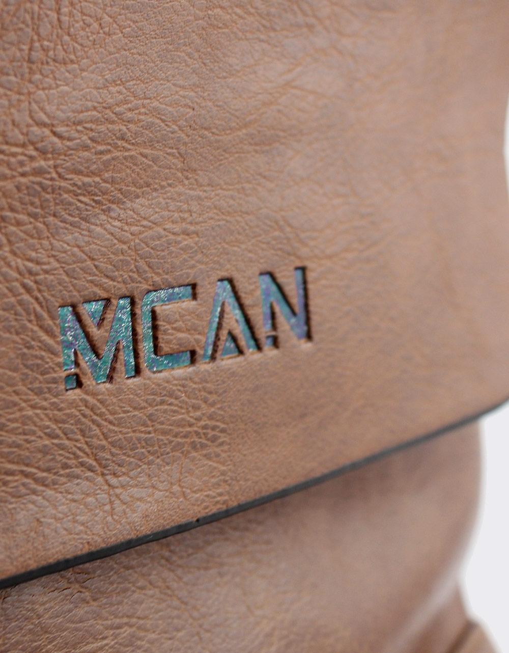 Εικόνα από Ανδρικές τσάντες ώμου με ανάγλυφη λεπτομέρεια Ταμπά