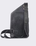 Εικόνα από Ανδρικές τσάντες ώμου με εξωτερική τσέπη Μαύρο