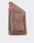 Εικόνα από Ανδρικές τσάντες ώμου με εξωτερική τσέπη Ταμπά