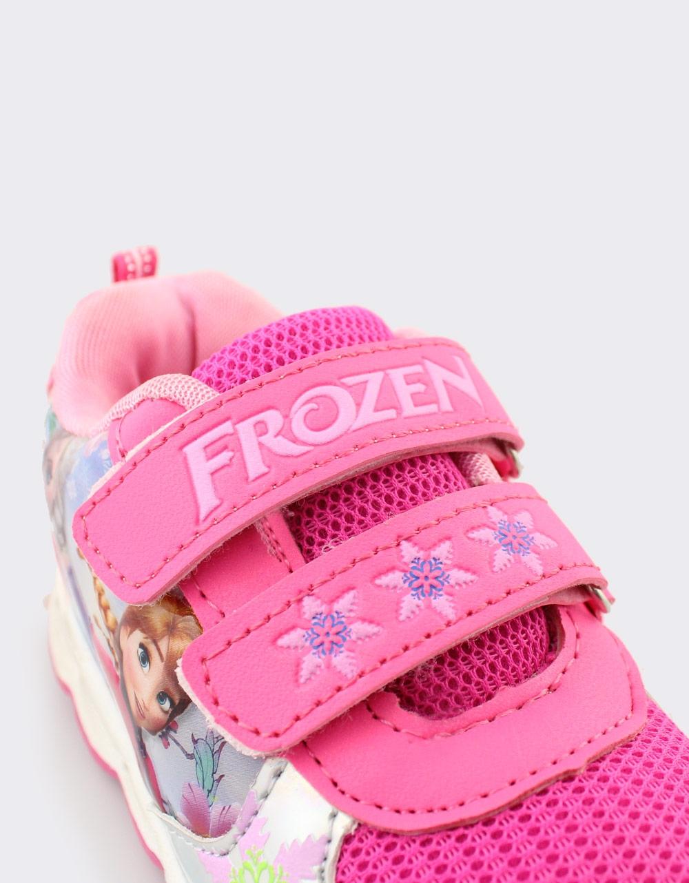 Εικόνα από Παιδικά αθλητικά Frozen με φωτάκια Φούξια