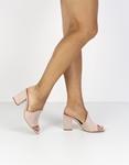 Εικόνα από Γυναικεία mules μονόχρωμα Nude