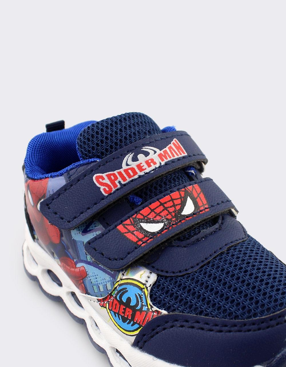 Εικόνα από Παιδικά αθλητικά Spiderman με φωτάκια Μπλε