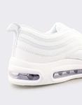 Εικόνα από Ανδρικά sneakers με αερόσολα Λευκό