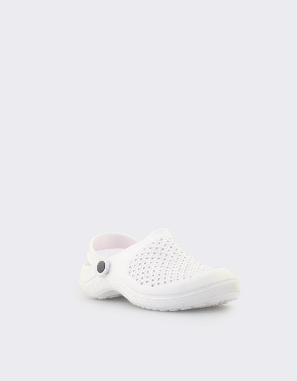 Εικόνα από Παιδικά σαμπό μονόχρωμα Λευκό