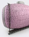 Εικόνα από Γυναικείοι φάκελοι clutch με glitter Μωβ