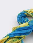 Εικόνα από Γυναικεία φουλάρια δίχρωμα Μπλε