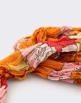 Εικόνα από Γυναικεία φουλάρια multi-color Πορτοκαλί