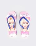 Εικόνα από Παιδικές σαγιονάρες με print Barbie Μπλε