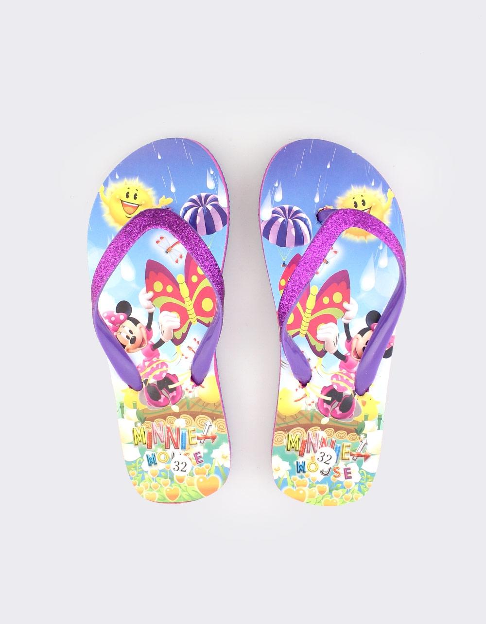Εικόνα από Παιδικές σαγιονάρες με Minnie Mouse Μωβ